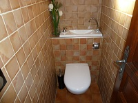 Wall-mounted toilets and basin combination - Mr F (France - 06) - 2 of 2 (after)