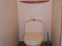 Wall mounted toilets with basin WiCi Boxi - Mr R (France - 77) - 1 of 2 (before)