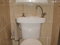 WiCi Concept hand wash basin kit fitting on already installed toilets - Ms G (France - 83) - 2 of 2