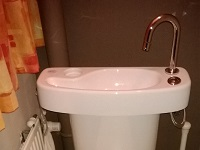 WiCi Concept adaptable WiCi Concept hand wash basin kit for toilets - Mr C (Belgium) - 2 of 2