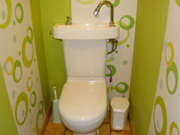 WiCi Concept wash basin kit fitting on already installed toilets - Mr C (France - 27)