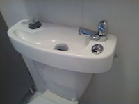 WiCi Concept toilet and hand wash basin combo - Ms D (France - 84) - 2 of 2