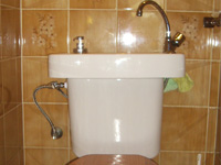 WiCi Concept wash basin kit fitting on already installed toilets - Mr G (France - 90) - 1 of 2