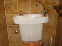 WiCi Concept wash basin kit fitting on already installed toilets - Mr G (France - 90) - 2 of 2