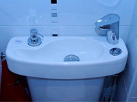 Adaptable WiCi Concept hand wash basin kit for toilets - Mr L (France - 90) - 3 of 3