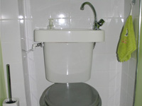 Toilet and sink combo WiCi Concept - Mr T (France - 80)