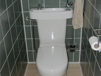 Hand wash basin kit fitting on already installed toilets WiCi Concept - Monsieur V (France - 25)