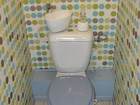 WiCi Mini small toilet and hand wash basin combination - Mr K (FR - 44) - 2 sur 2 (after)