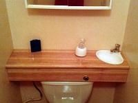 Small WiCi Mini basin for toilets - Mr C (France - 81) - 4 of 4 (after)