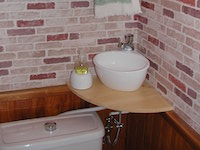 Cheap toilet unit with wall-standing WiCi Mini - Mr M (France - 53) - 2 of 3