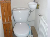Small toilet and hand wash basin combination WiCi Mini - Mr P - 1 of 2