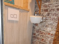 WiCi Mini Small Hand wash basin with wall-mounted toilets - Mr and Ms B (France - 64) - Mr and Ms B - 2 of 2 (after)