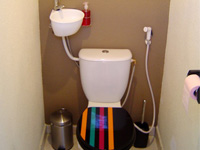 Small hand wash basin kit fitting on already installed toilets, WiCi Mini with toilet shower hose - Mr S (France - 25) - 2 of 2