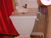 Small toilet sink unit WiCi Mini on side shelf - Mr M (France - 01) - 1 of 3