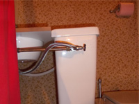 Small toilet sink unit WiCi Mini on side shelf - Mr M (France - 01) - 3 of 3