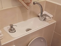 WiCi Next compact basin integrated to Geberit hung-toilets - Ms S (France - 92) - 1 of 2