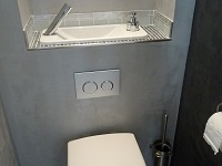 WiCi Next wall-hung toilets with integrated hand-wash basin - Mr L (France - 54) - 1 of 2