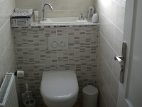 WiCi Next hand wash basin integrated to wall-hung toilets - Mr C (France - 71) - 2 of 2 (after)