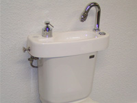 WiCi Concept basin on Discretion toilets Special Edition - 1 of 4