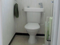 WiCi Concept basin adaptable on existing toilets - Ms A (France - 07)