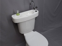 WiCi Concept basin kit, fitting on already installed toilets - 1 of 4