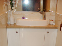 WiCi Concept space-saving toilets with wash basin kit in cabinet mounting - Mr and Ms G (France - 81)