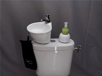 Adaptable small wash basin kit WiCi Mini - 1 of 6