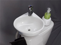 Adaptable small wash basin kit WiCi Mini - 2 of 6