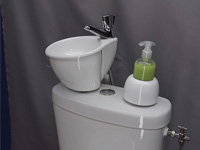 Adaptable small wash basin kit WiCi Mini - 3 of 6