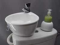 Adaptable small wash basin kit WiCi Mini - 4 of 6