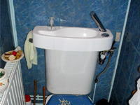 WiCi Concept wash basin for toilets - Mr and Ms O (25) - 1 of 2