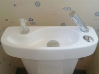 Toilet and sink combination, WiCi Concept - Mr and Ms B (France - 59) - 2 of 2