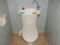 Toilet and basin combo, WiCi Concept - Ms and Ms F (France - 07)