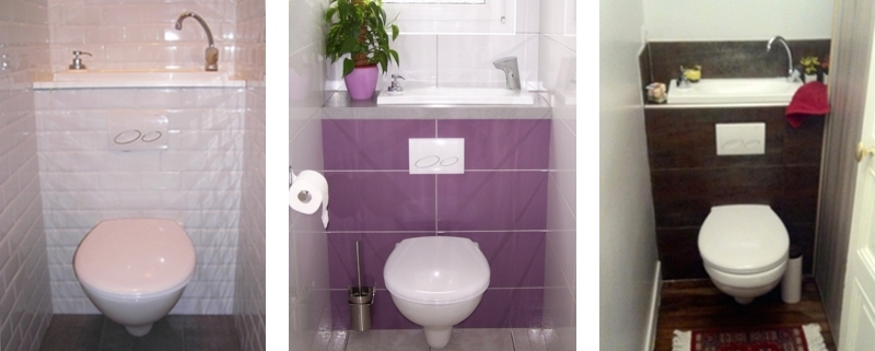 Testmonials of customers who installed a WiCi Boxi wall-mounted toilet and sink unit