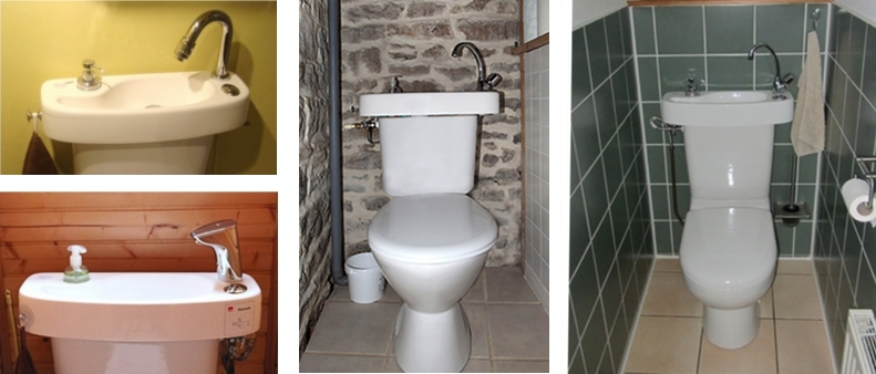 Testmonials of customers who installed a WiCi Concept toilet and sink unit